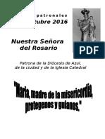 Novena de Las Patronales 2016