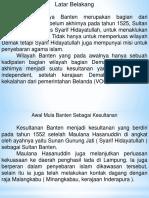 Kesultanan Banten