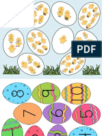 Easter Egg Numbers to Free