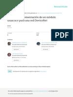 Diseño e Implementacion de Una Red Devicenet