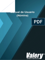 Manual de Usuario Nómina - 2016