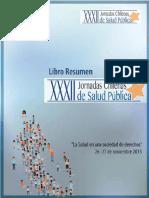 Libro Resumen Jornadas Chilenas de Salud Publica