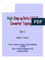 High Step Up Converters