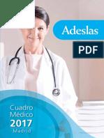 Cuadro Médico Adeslas Madrid - CuadrosMedicos.com