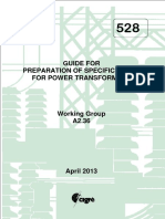 CIGRE Brochure 528 Transformer Specifications