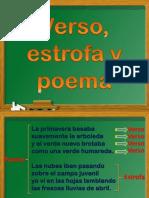 Verso_estrofa y Poema