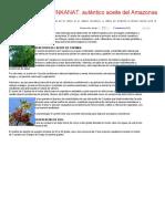 Aceite de Copaiba INKANAT, Auténtico Aceite Del Amazonas