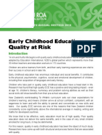ECE Special Report - Quality at Risk