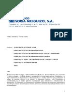 Ft Sabouraud Dextrose Agar Tubo