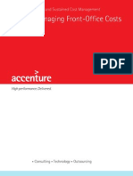 Accenture POV Front Office Cost Management