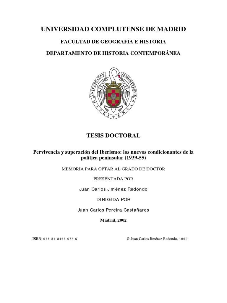 best service 20e6e f745e JIMENEZ REDONDO.,- Pervivencia y Superacion Del Iberismo. Los Nuevos  Condicionantes de La Politica Peninsular