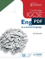 Cambridge IGCSE English Second Language