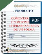Comentario Mov Literario de Un Poema_español 3