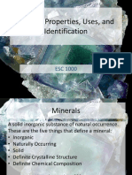 The Study of Minerals