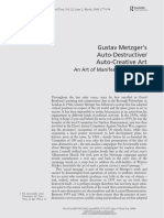 Auto Destructive Art Text Routledge