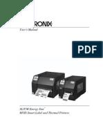 Manual Printronix Thermal T5000r
