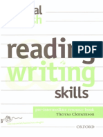 Reading Writing Skills