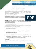 AnaCristinaActividad3Evidencia 13 Segmentacion de Mercados