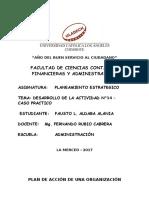 PLANEAMIENTO ESTRATEGICO-DESARROLLO DE LA ACTIVIDAD N°14 – CASO PRACTICO..