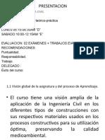 NOCIONES DE INGEIERIA CIVIL  CLASE 01