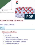 19 Catalisadores Metálico - Grad 2016
