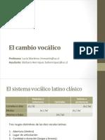 CAMBIO+VOCÁLICO
