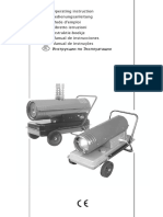 Manual Calentador de Airte GK60