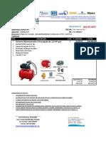 Presupuesto Cabisoar-sistema Hidroneumatico Precargado