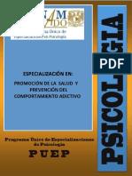 Promoc de La Salud y Prevenc Del Comport Adictivo
