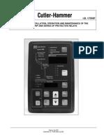 Manual Relevador Digitrip