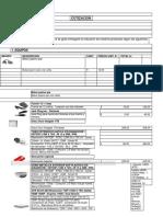 Cotizacion Kit Hikvision 8 Camaras de Seguridad