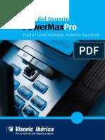 PowerMaxPro Partition II Spanish User Guide D302935