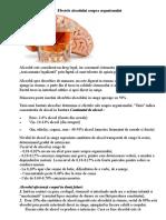 Efectele Alcoolului Asupra Organismului