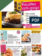 48 Recettes Anti Gaspi ... Pour Une Assiette Responsable