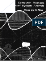 Computer Methods in Power System Analysis by G.W. Stagg & a.H. El-Abiad
