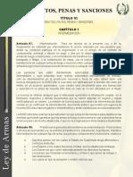 DELITOS Y FALTAS DEL LEY DE ARMAS Y MUNICIONES.pdf