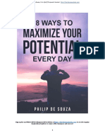 18 Ways to Maximize Your Potential Everyday