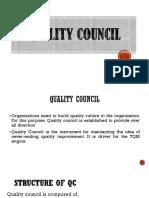 2. Quality Council