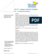 Escherichia Coli O157 H7 Patógeno Alimentar Emergente