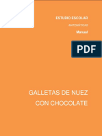 UAE Galletas de Nuez Con Chocolate