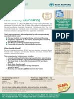 ACAMS Flyer & Booking Form 2014