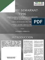 Nom 001 Semarnat 1996