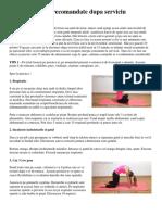 10 Posturi Yoga Recomandate Dupa Serviciu