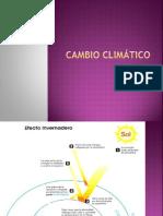 3.1 Cambio Climático