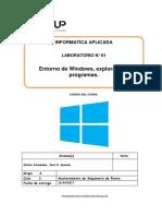 Lab 01 - Entorno y Reconocimiento de Archivos