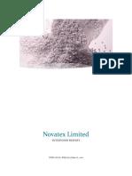 Novatex Report