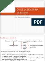 """7 FORMACIÃ""""N DE LA DOCTRINA TRINITARIA"""