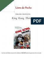 King Kong Theorie - Despentes - Extrait