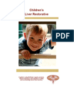 Bioray - Children Liver Restorative Guide