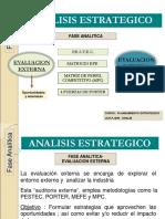 6 Análisis Estratégico, Evaluación Externa